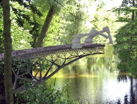 Revolutionary Construction Technology Of 3D Printed Steel Bridge In The Heart Of Amsterdam   GC's   Scoop.it