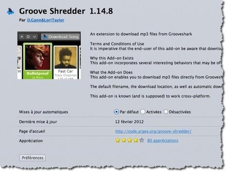Télécharger facilement de la musique sur Grooveshark. | Time to Learn | Scoop.it