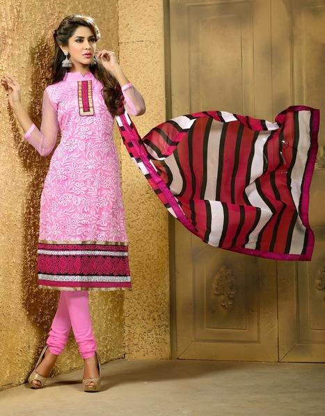 Party Wear Net Salwar Kameez Designs @ Amazon India Fabdeal | Shop Online Indian Women Clothing | Scoop.it