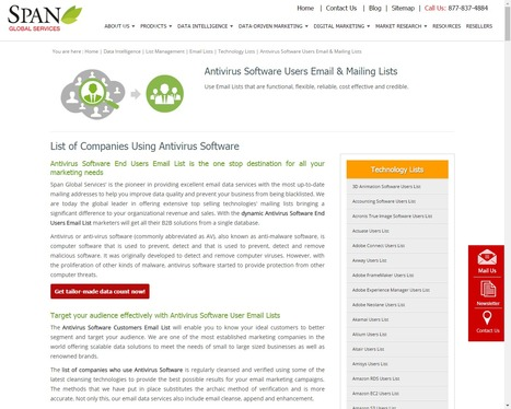 Buy Antivirus Software using Companies from Span Global Services | Span Global Services | Scoop.it