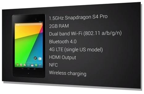 Google annonce sa nouvelle Nexus 7, Full HD et Android 4.3 | toute l'info sur Google | Scoop.it