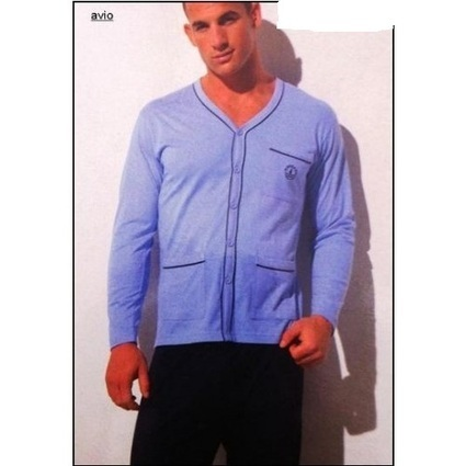 Pyjalong Tailleur Navigare - TENUES D'INTERIEUR/Pyjalongs - roméo lingerie masculine   Homewear Homme   Scoop.it