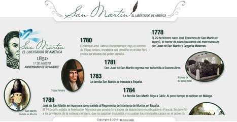 General Don José de San Martín. Infografía, biografía y otros datos. El historiador | RECURSOS PARA EDUCACIÓN Y BIBLIOTECAS | Scoop.it