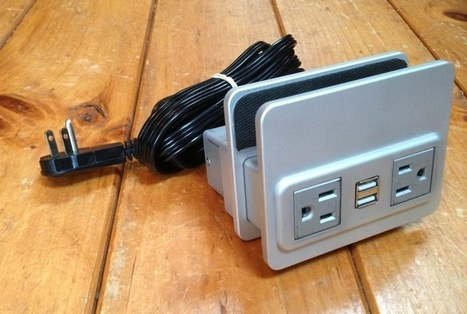 NuPlug: Add an AC Outlet and USB Ports to Your Couch or Bed - Gadget Review | USB devices and sensors | Scoop.it