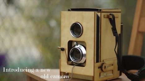 Photo - wooden TLR polaroid camera by kevin kadooka | VIM | Scoop.it