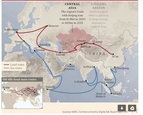 How will a modern Silk Road affect China's foreign policy? | International Trade | Scoop.it