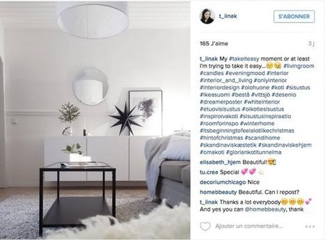 Instagram prépare la maison pour l'hiver – Cocon de décoration: le blog | Décoration | Scoop.it