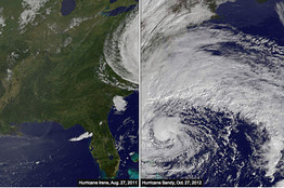 Compare Irene to Sandy | Share Some Love Today | Scoop.it