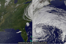 Compare Irene to Sandy | european politics | Scoop.it