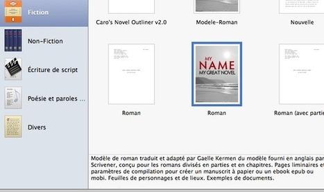 Scrivener importer un modele dans un nouveau projet | Scrivener, lecture et écriture numérique | Scoop.it