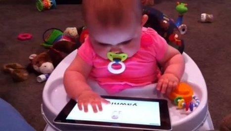 Pediatras japoneses avisan del riesgo de que los bebés jueguen con smartphones y tabletas | Actualitat educativa | Scoop.it