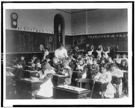 Absorbing Details in the Classroom: Photographs of Schoolroom Interiors | Picture This: Library of Congress Prints & Photos | Pelas bibliotecas escolares | Scoop.it
