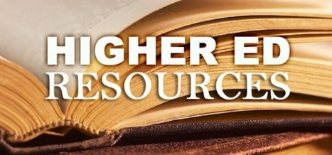 Resources: Higher Education   Verge Pipe Media   Educational Research & Publishing   Scoop.it