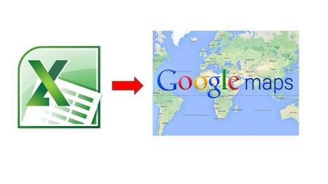 Geoinformación: MapsAList: Crea tus mapas desde las hoja de cálculo de Google o de Excel | #Fusion Tables | Scoop.it
