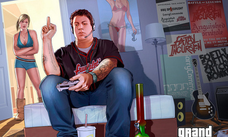 'Grand Theft Auto V' Is Going to Destroy My Social Life | VICE United States | Negative effects of Technology | Scoop.it