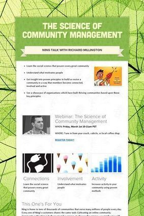 The Science Of Community Management [webinar] | Community Management Around the Web | Scoop.it