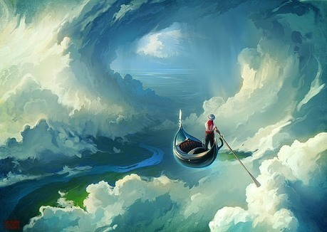 Digital Paintings by RHADS | #Design | Scoop.it