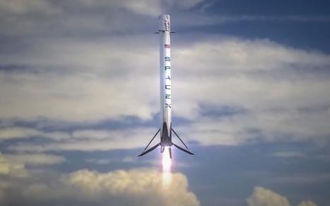 SpaceX réussit à ramener sa fusée Falcon 9 sur Terre - Aruco | Objets connectés, quantified self, TV connectée et domotique | Scoop.it