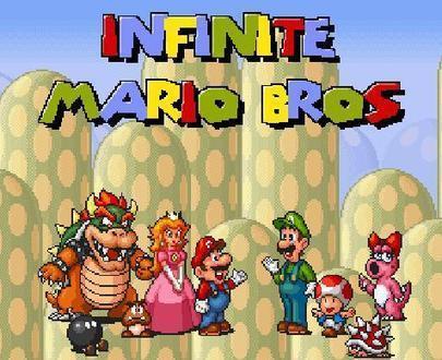 Infinite Mario Bros   Toon Games   Scoop.it