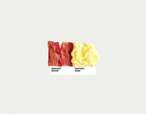 Food Art Pairings - Dschwen LLC / Selected Design & Illustration Works by David Schwen. | Socialart | Scoop.it