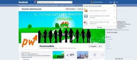 PosicionaWeb.es - facebook y su nueva configuracion de privacidad   Sobre Redes Sociales   Scoop.it