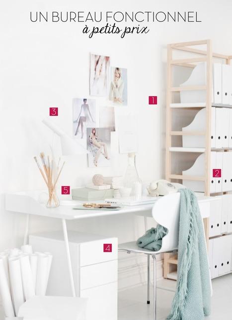 5 astuces déco pour un bureau fonctionnel à petits prix | décoration & déco | Scoop.it