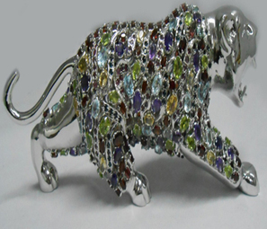 Sterling Silver Tiger   Indian shaily crafts   Scoop.it