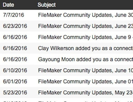 Archiving Email In FileMaker | FileMaker Love | Scoop.it