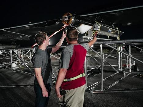 Facebook's giant solar-powered drone takes flight to deliver internet to remote areas - TechRepublic | Technology and Financial Online Marketing | Scoop.it