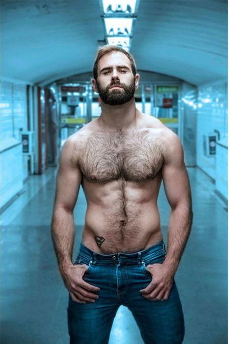 Hairy Francesc Gasco Shirtless by Andreu Mena   Hairy Hunks   Scoop.it