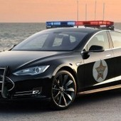 Can't beat 'em? Join 'em: California police considering Tesla Model S cop cars | Cars | Scoop.it
