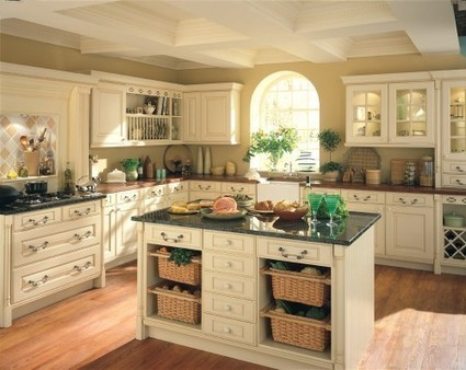 Cream Kitchen Cabinets for Soft and Comfortable Feelings   Home Decorating Ideas   Scoop.it