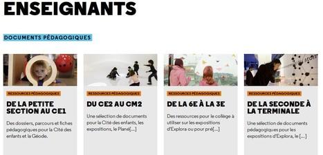 Tous les documents pédagogiques de la Cité des Sciences | TICE, Web 2.0, logiciels libres | Scoop.it