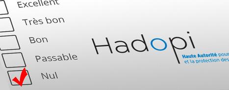 Hadopi : le vrai bilan négatif de la riposte graduée | Libertés Numériques | Scoop.it