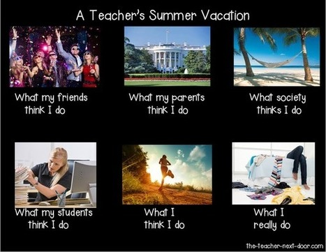 Teacher's Summer Vacation | What I really do | Scoop.it