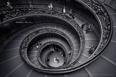 double helix. | Photographie B&W | Scoop.it