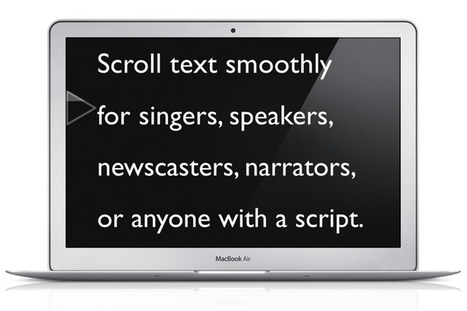 Presentation Prompter for Mac | Digital Presentations in Education | Scoop.it