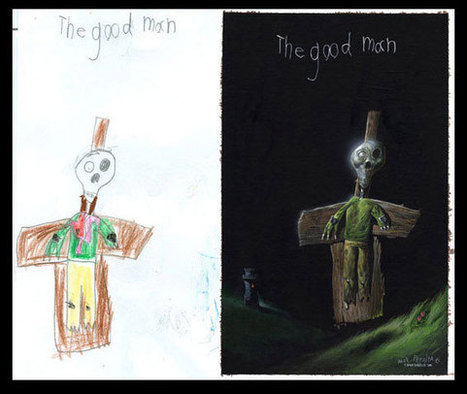 What children's drawings would look like in real life - Imgur | Fun and beautiful | Scoop.it