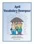 April Vocabulary Downpour | Seasonal Freebies for Teachers | Scoop.it