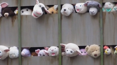 Banksy Strikes Again with Adorable but Horribly Sad 'Sirens of the Lambs' | Urban Art | Scoop.it