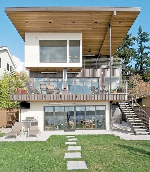 Maison contemporaine kirkland residence par verge - Architecture contemporaine residence parks ...