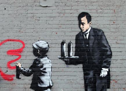 Street art Banksy à New York – Part 3 | calligraphik | Scoop.it