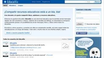 Un twitter de docentes.  EducaBla. | #REDXXI | Scoop.it