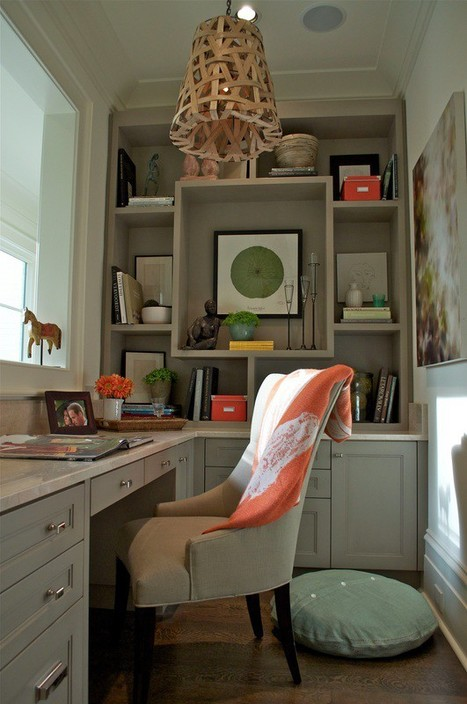A Custom Home Office can fit anywhere | Home & Office Organization | Scoop.it