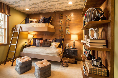 Creatively Decorated Bedroom for the Born Explorer | Simple Decorating Ideas For Home | Scoop.it