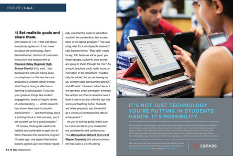 THE Journal : March 2014, Page 11 | Curriculum and Instruction Resources | Scoop.it