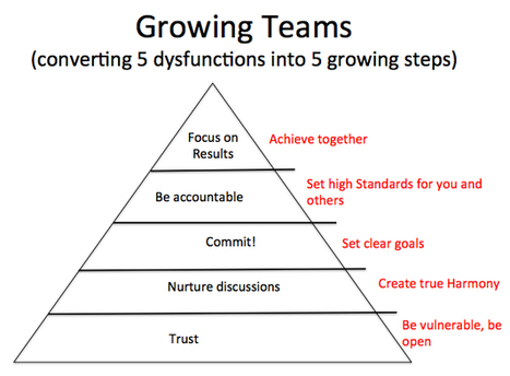 Turning Dysfunctions into Actions  -  Fighting the 5 Dysfunctions of a Team | Innovatus | Scoop.it