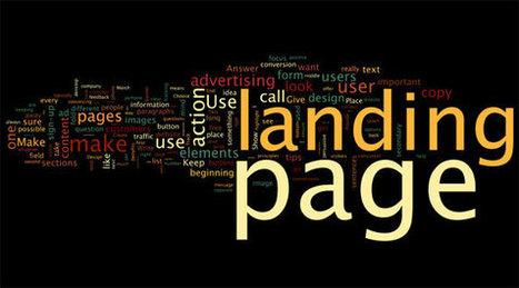 Aspectos básicos de una Landing Page #infografía   Kimera ideas y marketing   Scoop.it