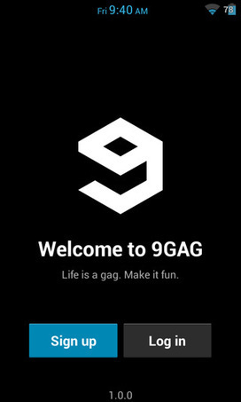 9GAG App For Android Now Available For Download | Businesses and Technologies | Scoop.it