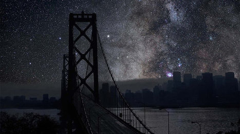 Lights Out: What SF, NYC, And Tokyo Would Look Like Under Montana's Stars | Digital-News on Scoop.it today | Scoop.it
